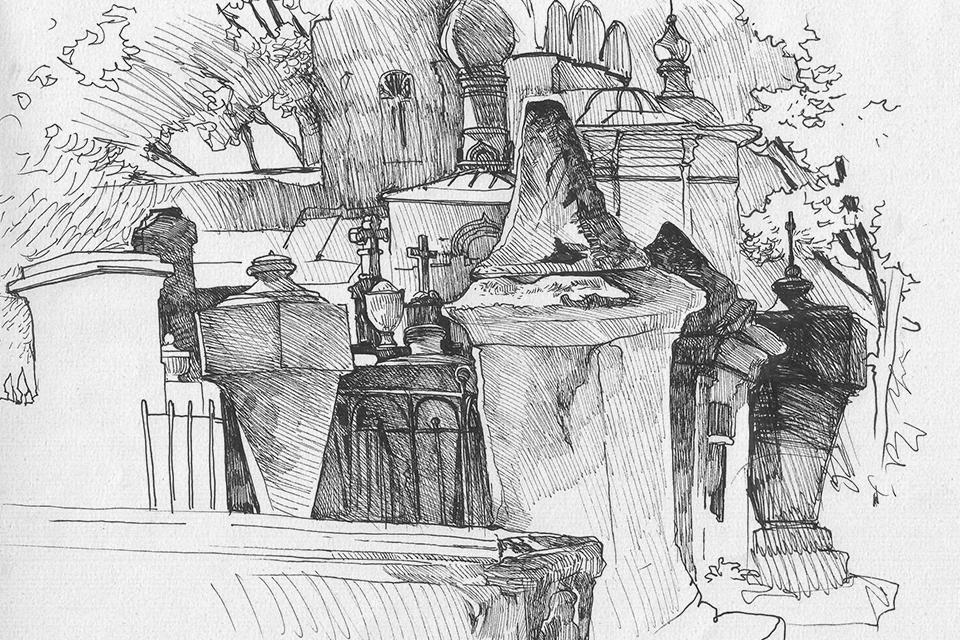 Старое Донское кладбище. Изображение № 4.