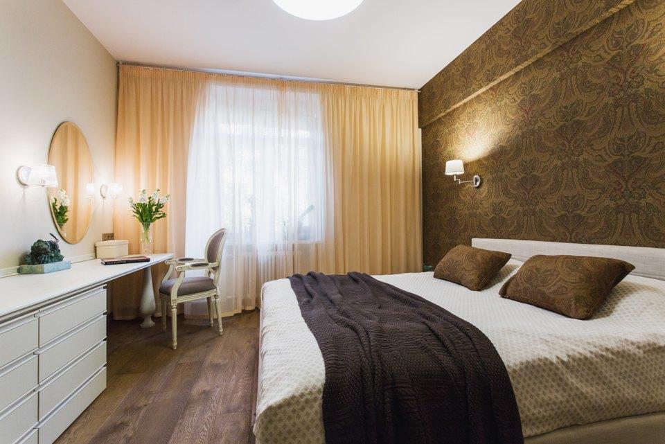 Квартира с декоративным камином для семьи сноворождённым . Изображение № 10.