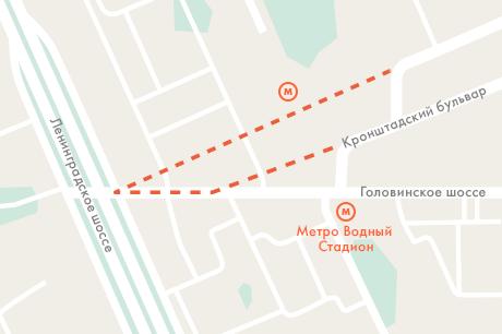 Кронштадтский бульвар продлят до Ленинградки. Изображение № 1.