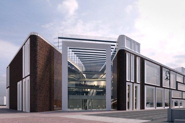 Определены проектировщики фасадов нового здания Третьяковки. Изображение №1.