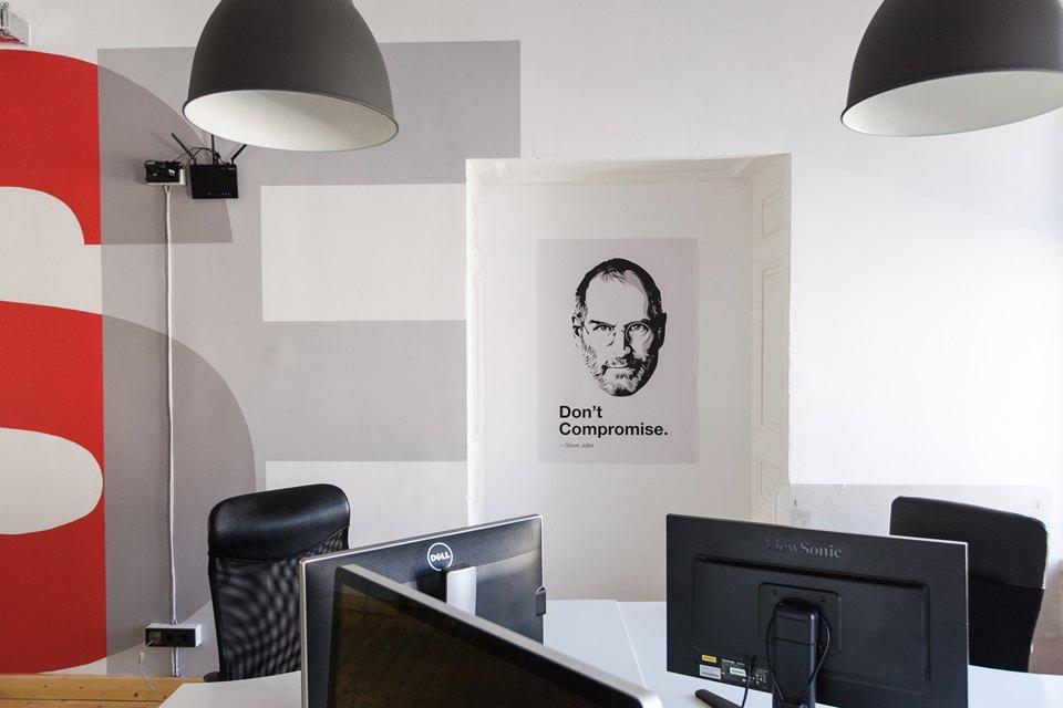 Дизайн офиса IT-компании. Проект DA architects