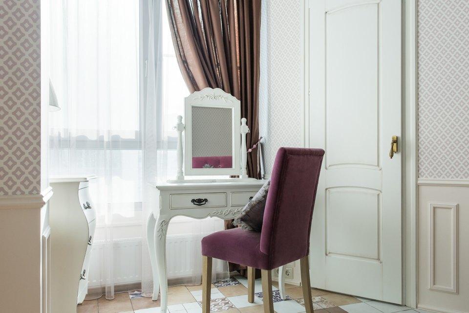 Большая квартира для семьи на«Нагатинской» с кабинетом илимонной ванной. Изображение № 6.