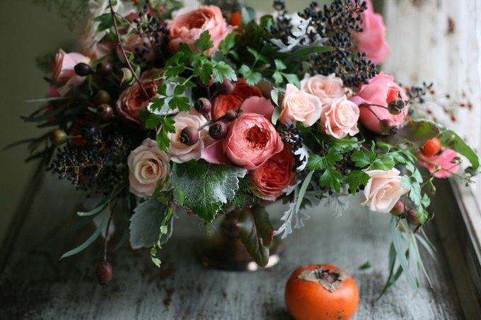 Как собрать необычный букет из дачных цветов. Изображение № 2.