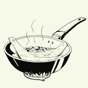 Корюшка, жаренная вореховой панировке. Изображение № 4.