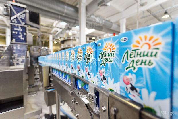 Фоторепортаж: Как делают йогурты на молочном заводе. Изображение № 53.