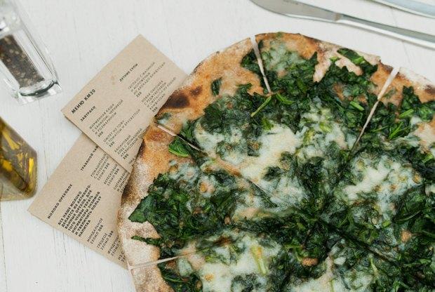 Три вегетарианские пиццы. Изображение № 3.