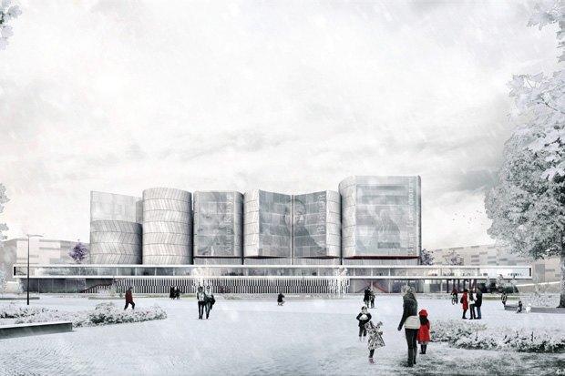Три проекта нового здания ГЦСИ. Изображение № 16.