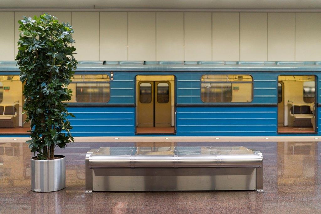 Зонтпэкер изарядка для гаджетов—как устроена станция метро «Котельники». Изображение № 10.