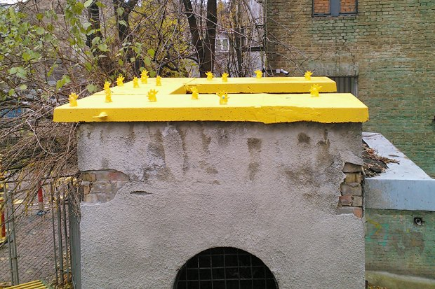 Киев — Петушки: Новый вид городского стрит-арта. Изображение № 15.