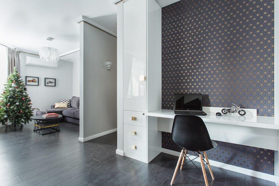 Трёхкомнатная квартира для большой семьи вВидном. Изображение № 8.