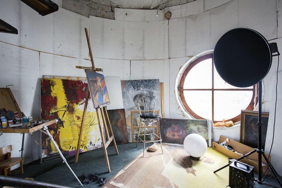 Мастерская в башне наПяти углах. Изображение № 2.