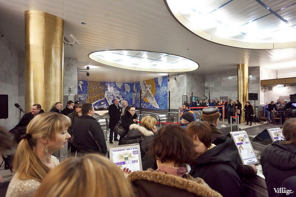 Фоторепортаж: Станции метро «Международная» и«Бухарестская» изнутри. Изображение № 20.