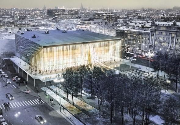 Изображение 2. Иностранные архитекторы представили проекты реконструкции кинотеатра «Пушкинский».. Изображение № 3.