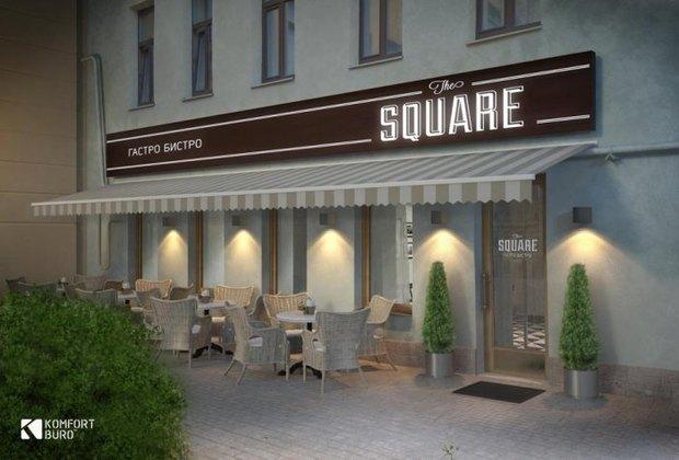 На Преображенской площади откроется бистро The Square. Изображение № 1.