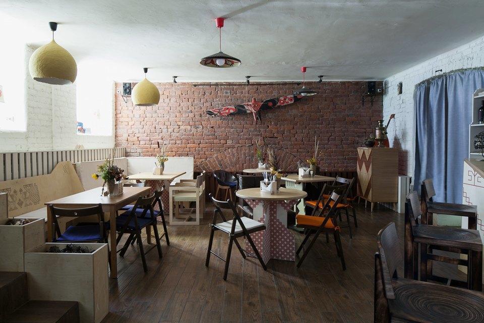 Кафе «Дуня» вТучковом переулке . Изображение № 1.