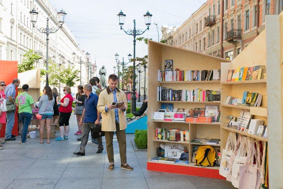 Как выглядит книжный квартал на Малой Конюшенной. Изображение № 6.