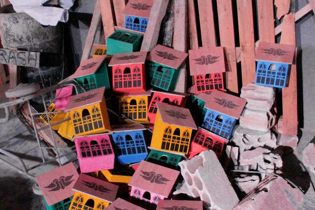 Идеи для города: Скворечники из мусора вДании. Изображение № 5.