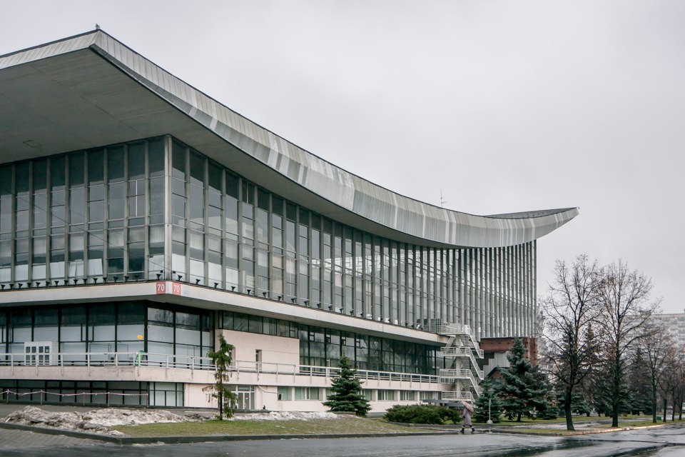 Архитектор Андрей Стенюшкин— омонреальском павильоне наВДНХ. Изображение № 2.