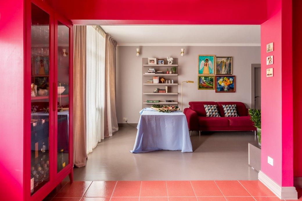 Квартира с яркими акцентами длябольшой семьи. Изображение № 11.
