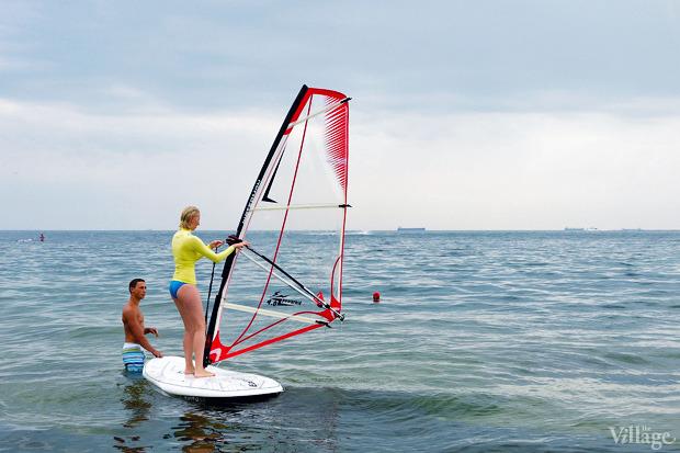 На воде: Виндсёрфинг, вейкбординг и дайвинг в Одессе. Изображение №2.