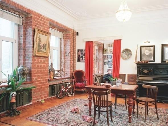 Изображение 3. В магазине Mood Swings появились обои с изображением московских квартир.. Изображение № 3.
