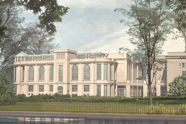Проект северного фасада киноцентра «Великан» . Изображение № 2.