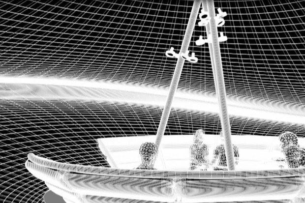 Летающая тарелка на крышах исторического центра. Изображение № 3.