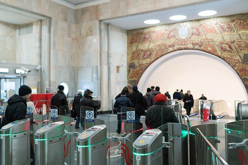Обновлённая станция метро «Бауманская». Изображение № 5.