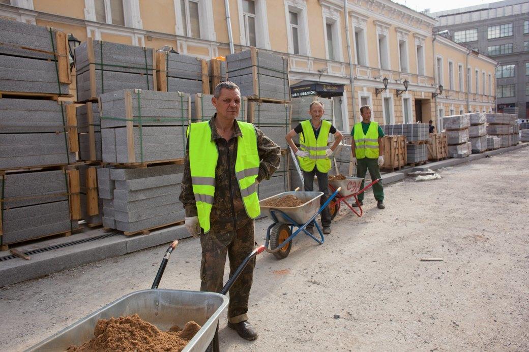 Её раскопали: Пешеходные улицы Москвы за месяц до открытия. Изображение № 32.