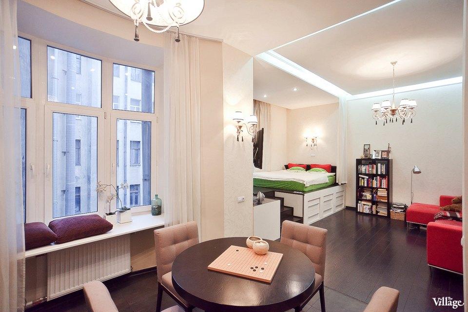 Дизайн квартира-студия картинки