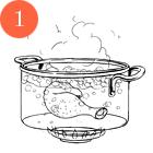 Рецепты шефов: Кукурузный суп на кокосовом молоке скреветками. Изображение №3.