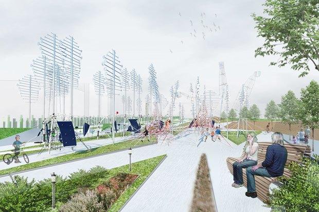 Идеи для города: Кинетический парк на месте «Набережной Европы». Изображение № 3.