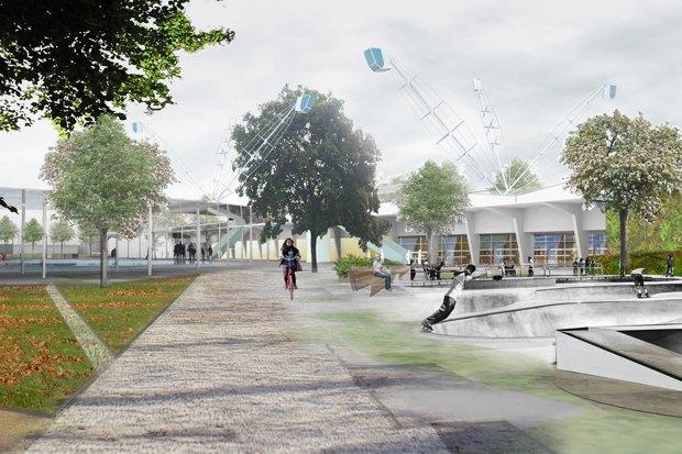 Идеи для города: Кинетический парк на месте «Набережной Европы». Изображение № 2.