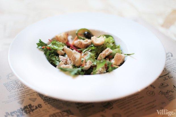Салат с курицей и сыром пармезан — 157 рублей . Изображение № 24.