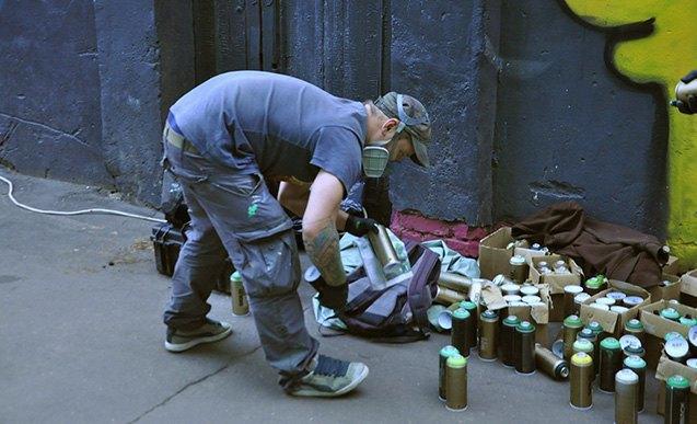 Покрашено: Как город разрешил стрит-арт. Изображение № 8.