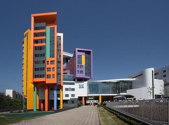 Изображение 7. На юго-западе Москвы открылась разноцветная детская больница.. Изображение № 1.