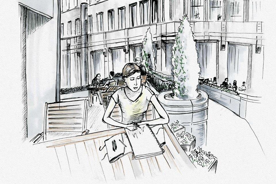 Клуб рисовальщиков: «Белая площадь». Изображение №6.
