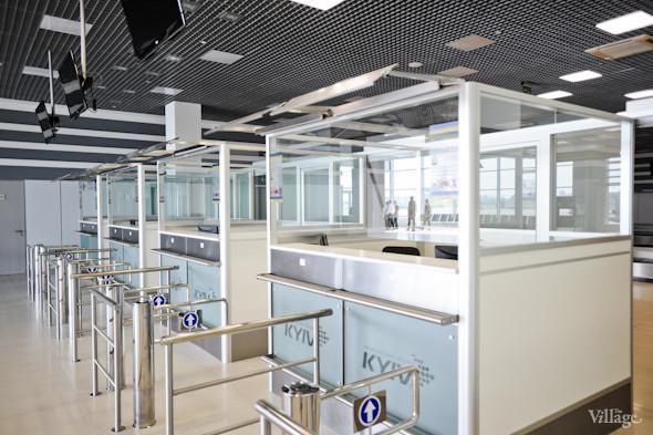 Фоторепортаж: Новый терминал аэропорта Киев — за день до открытия. Зображення № 25.