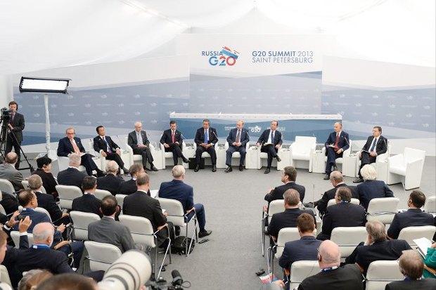 Итоги недели: G20, красивые велопарковки и pop-up кафе в «Этажах». Изображение № 1.