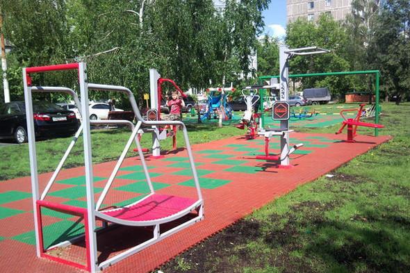 Детская площадка в Бирюлеве-Западном. Изображение № 10.