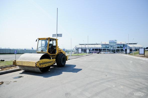 Фоторепортаж: Новый терминал аэропорта Киев — за день до открытия. Зображення № 8.