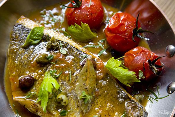 Дорадо с овощами и соусом «Биск». Изображение № 34.
