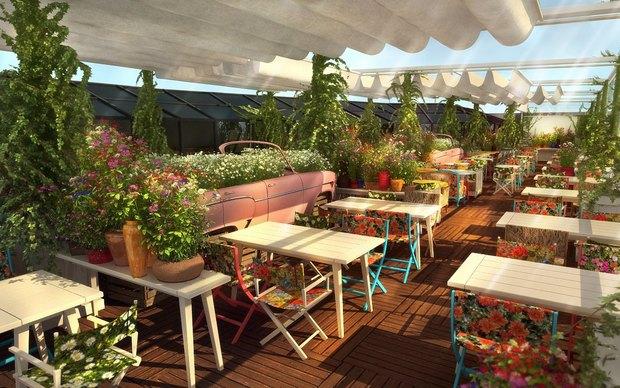 Ginza Project откроет наМарата ресторан «Гастрономика» . Изображение № 2.