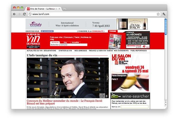 Французская винная пресса — журнал La Revue du vin de France. Изображение № 5.