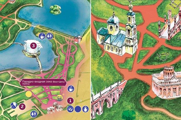 Для музея-заповедника «Царицыно» разработали навигацию. Изображение № 15.