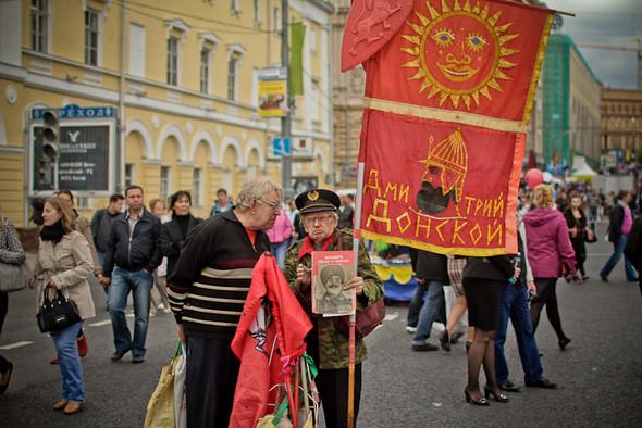 Универсальное поздравление: День города на московских улицах. Изображение № 25.