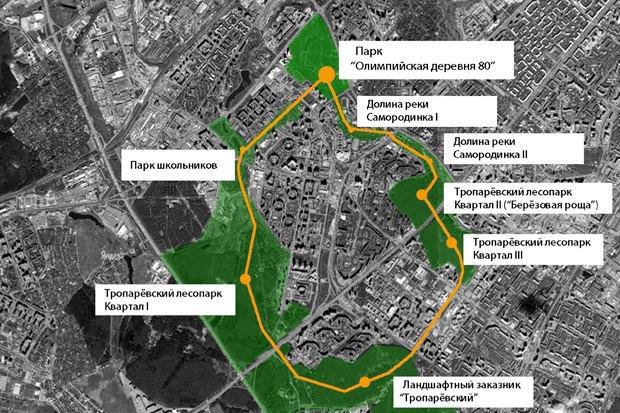 Чего хочет Москва: Четыре районных парка. Изображение № 36.