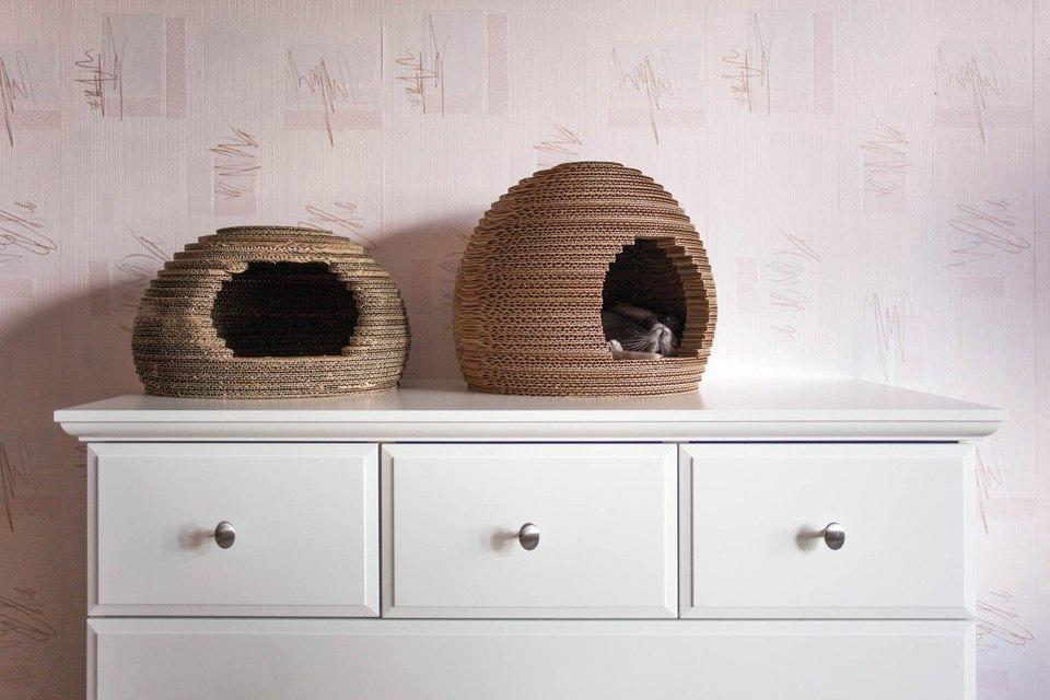 Как заработать на картонных домиках для кошек. Изображение № 7.