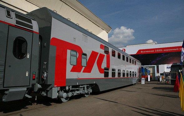 Первые двухэтажные поезда запустят 1 ноября. Изображение № 1.
