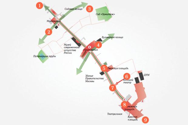 Исследование Яна Гейла: 14 фактов опешеходной Москве. Изображение № 36.